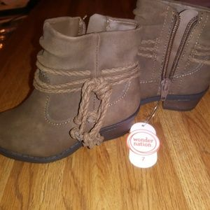 Toddler Girls Boots Size 7